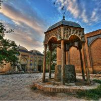 Courtyard in the old school - Khiva - Uzbekistan, Мангит