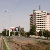 Вид с моста., Нукус