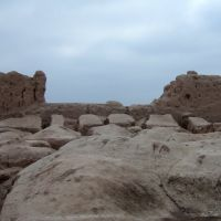 Ancient city in Nukus, Тахиаташ