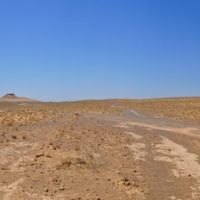 The Zoroastrian Towers of Silence outside Nukus in Karakum Desert  in Uzbekistan., Тахтакупыр