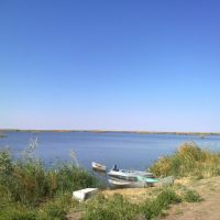 """Берег озера """"Джалтырбас"""", Тахтакупыр"""