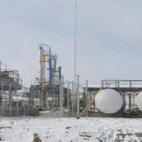 Oil refining factory. City Hodzhely, Тахтакупыр