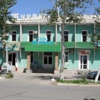 Hotel Turtkul - The only one in Turtkul. Large rooms, low water pressure. Good cafe. US20/night, Турткуль