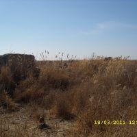 Стены разрушенного города, Жана-кала 18-19 вв., Чимбай