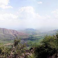 Up the Takhtakaracha pass towards Samarkand, Гузар