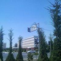 Uzbekistan street. Karshi Center, Карши