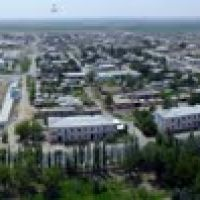 Karaulbazar city, Bukhara, view from 70m high, Касан