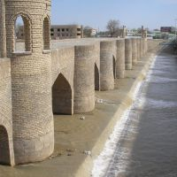 Старый Николаевский мост, Касан
