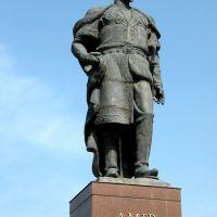 Uzbekistan, Sharishabz: statua di Tamerlano, Китаб