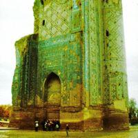 """Shahrisabz (Шахрисабз) Ak-Sarai; AQ-Saray palota; """"Fehér Palota"""", Китаб"""