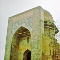 "Shahrisabz - Kok-Gumbaz; Kok Gumbaz mecset; ""Blue Dome"", Китаб"