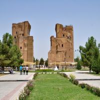 Aq-Saray Palace in Shakhrisabz, Uzbekistan., Китаб