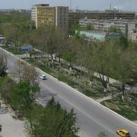 """Вид с """"базарной"""" 9-ти этажки, Навои"""