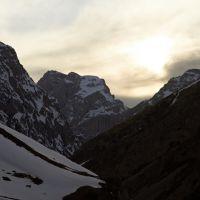 Закат над каньоном Афлатун, Касансай