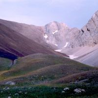 Brown slope and peak, Касансай