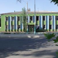Узбекистан. Райцентр Пап. Районная больница., Пап