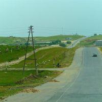 Route A 378 de Chakhbrisak à Samarcande, Ингичка