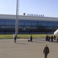 Samarkand Airport, Красногвардейск