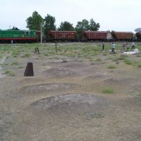 Serabulak RR grave UZB ?exact location?, Красногвардейск