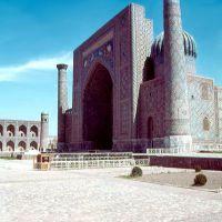 1985.04. - Samarkand, Regisztan square-Serdor medressze, Самарканд