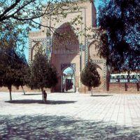1984.04. - Samarkand, Bibi Hanim mosque-pestak, Самарканд