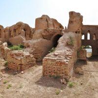 Qirq Qiz Saroyi in Termez, Uzbekistan., Карлук