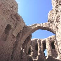 Qirq-qiz castle, Термез