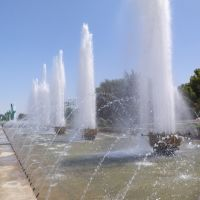 Termez city. Fountain, Термез