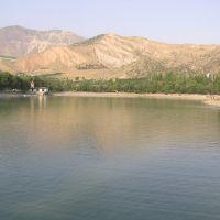 Lake with Bathers, Узун