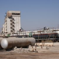 LPG reloading base in Kholhozabad, Узун