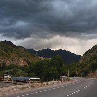 Road Dushanbe - Varzob., Узун