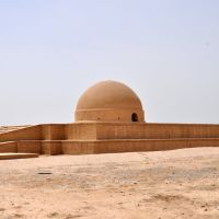The Fayaz-Tepa complex is one of outstanding monuments of Buddhism epoch in Termez, Uzbekistan., Шерабад