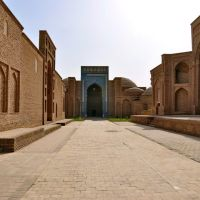 Sultan Saodat Ensemble in Termez, Uzbekistan., Шерабад