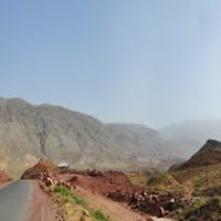 Along the road to Shahrisabz in Uzbekistan., Шерабад
