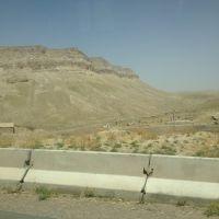 Anticline ridge near Dehkanabad, Шерабад