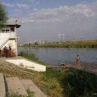 плот на гребной базе, Ширин