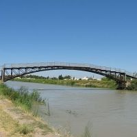 """Мост """"Горбач"""", Гулистан"""