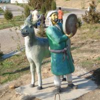 Скульптуры в парке Абдулла Кадыри, Крестьянский