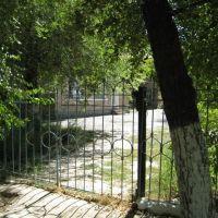 Школа №1 - сколько не латали забор - всегда был тут проход, Сырдарья