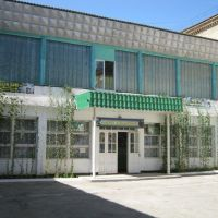 Школа №1 - вход, Сырьдарья