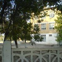 Школа №14 имени Титова. На втором этаже был класс географии, Алмалык