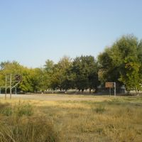 Спортплощадка школы №15, Алмалык