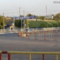 """Перекрёсток на """"Бытовой"""", Алмалык"""