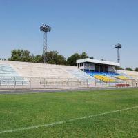 Бекабад. Старый стадион Металлург, Бакабад