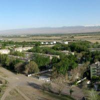 Panorama of Chkalovsk airport. Tajikistan., Бука