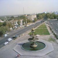 View from the hotel Ehson (Khujand, Tajikistan), Бука