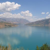 Charvak reservoir, Uzbekistan - водохранилище Чарвак, Узбекистан, Бука