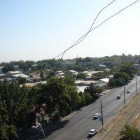 Вид с ул. Муртазаева, Келес