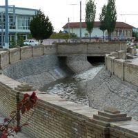 Tachkent : le canal Kalikase près de lInstitut Al Boukhari, Келес