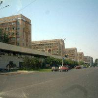 Tinchlik, Tashkent  タシケントの街並み, Келес